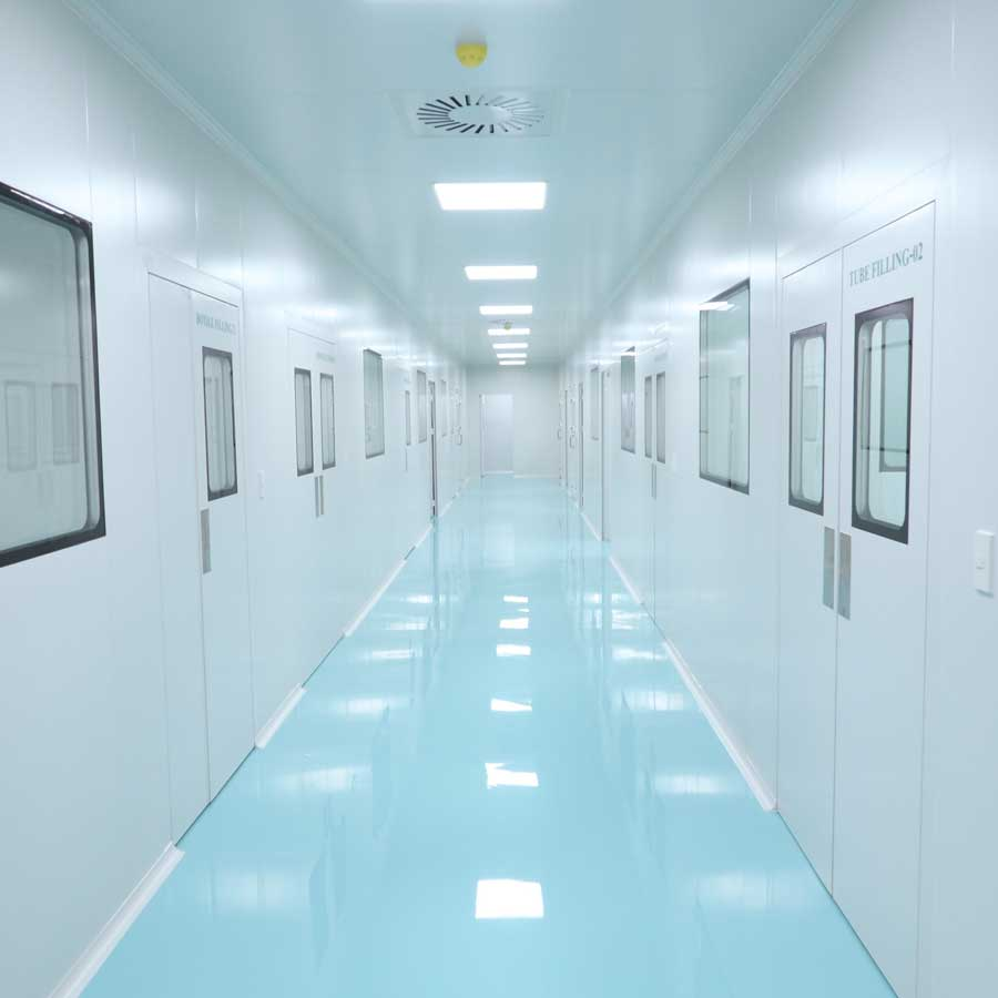 Clean Room Fireproof by Wall Tech