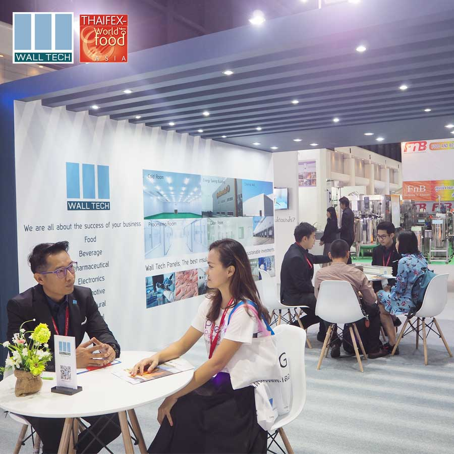 Wall Tech at Thaifex 2019