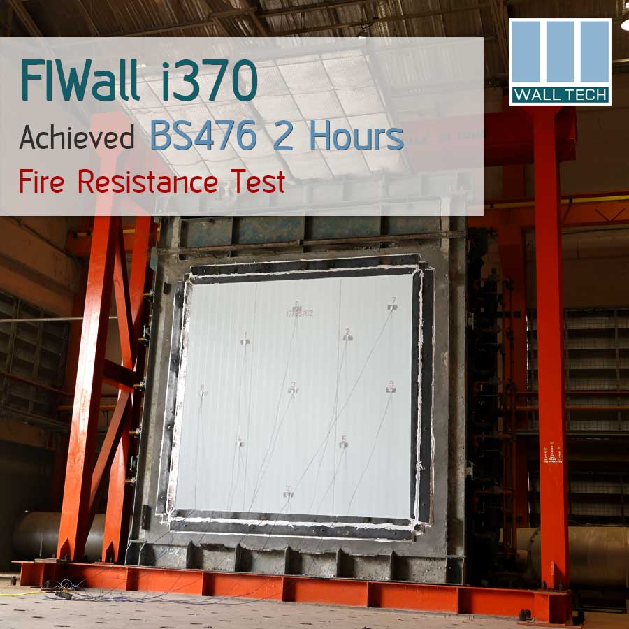 FIWall i370 PIR Sandwich Panel BS 476