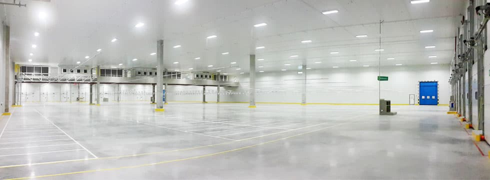 Cold Storage Warehouse Distribution Center