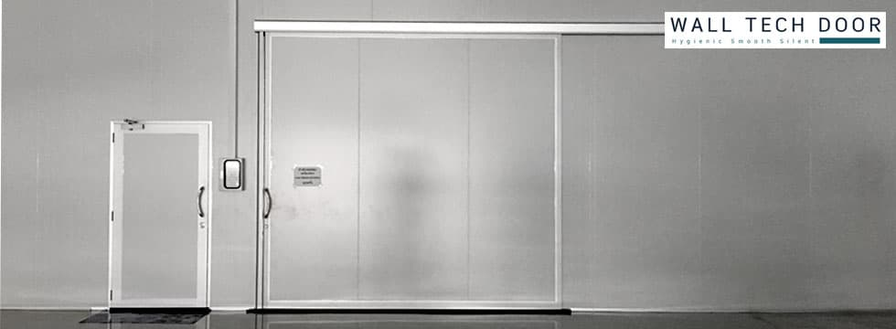 Insulated doors for Cold rooms, Processing rooms, and Clean rooms